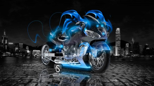 Moto-Suzuki-Hayabusa-Blue-Fire-Crystal-City-2013-HD-Wallpapers-by-Tony-Kokhan-[www.el-tony.com]