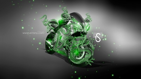Moto-Yamaha-R6-Fantasy-Dragon-2013-Green-Neon-2013-design-by-Tony-Kokhan-[www.el-tony.com]
