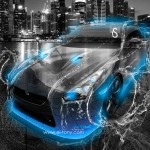 Nissan GTR R35 Water City Car 2013