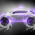 Nissan Juke Water Neon Car 2013