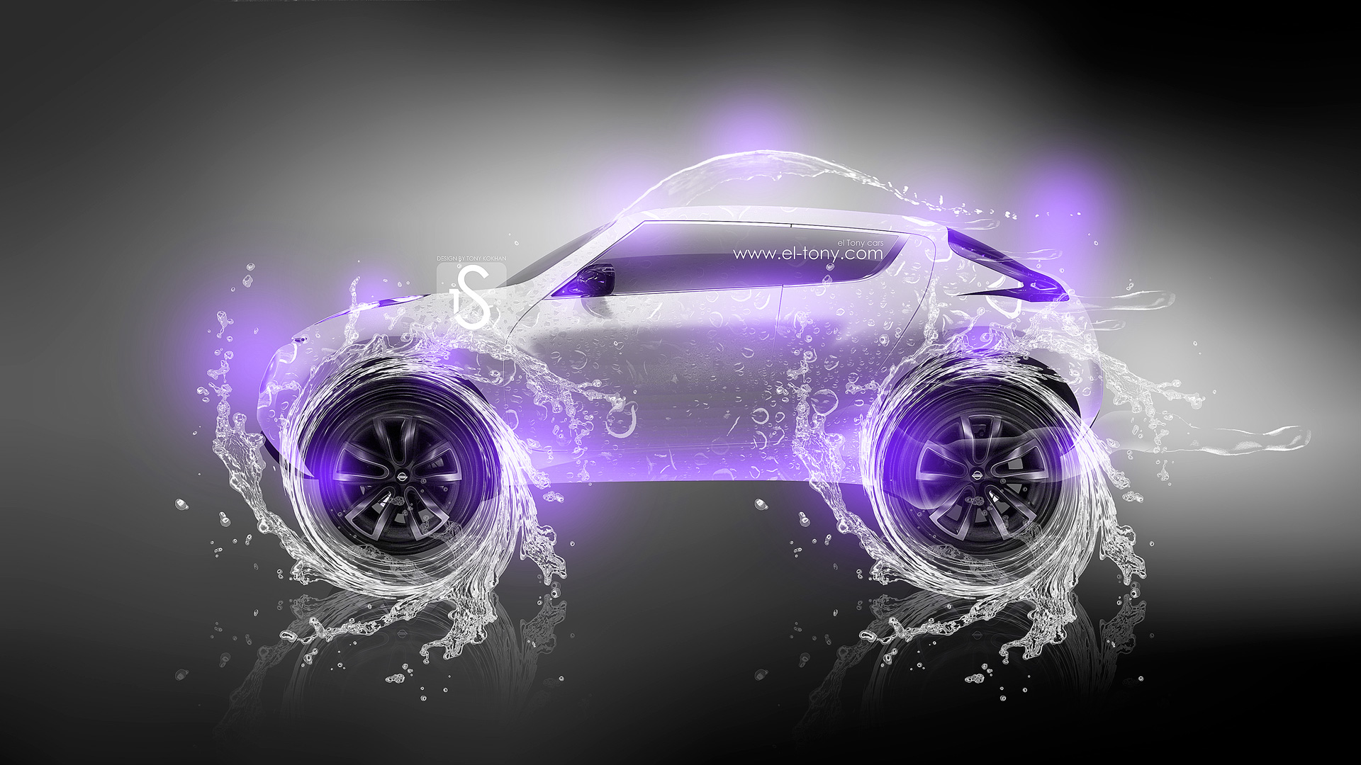 Ordinaire Nissan Juke Water Car V2 2013 Violet Neon