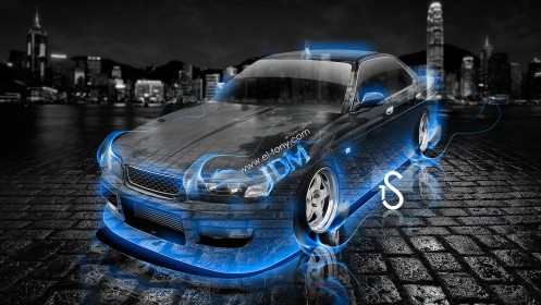 Nissan-Laurel-C35-JDM-Blue-Fire-Crystal-Car-2013-HD-Wallpapers-design-by-Tony-Kokhan-[www.el-tony.com]