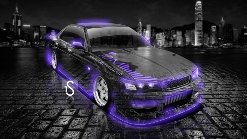 Nissan-Laurel-C35-JDM-Crystal-City-Car-2013-Violet-Neon-design-by-Tony-Kokhan-[www.el-tony.com]