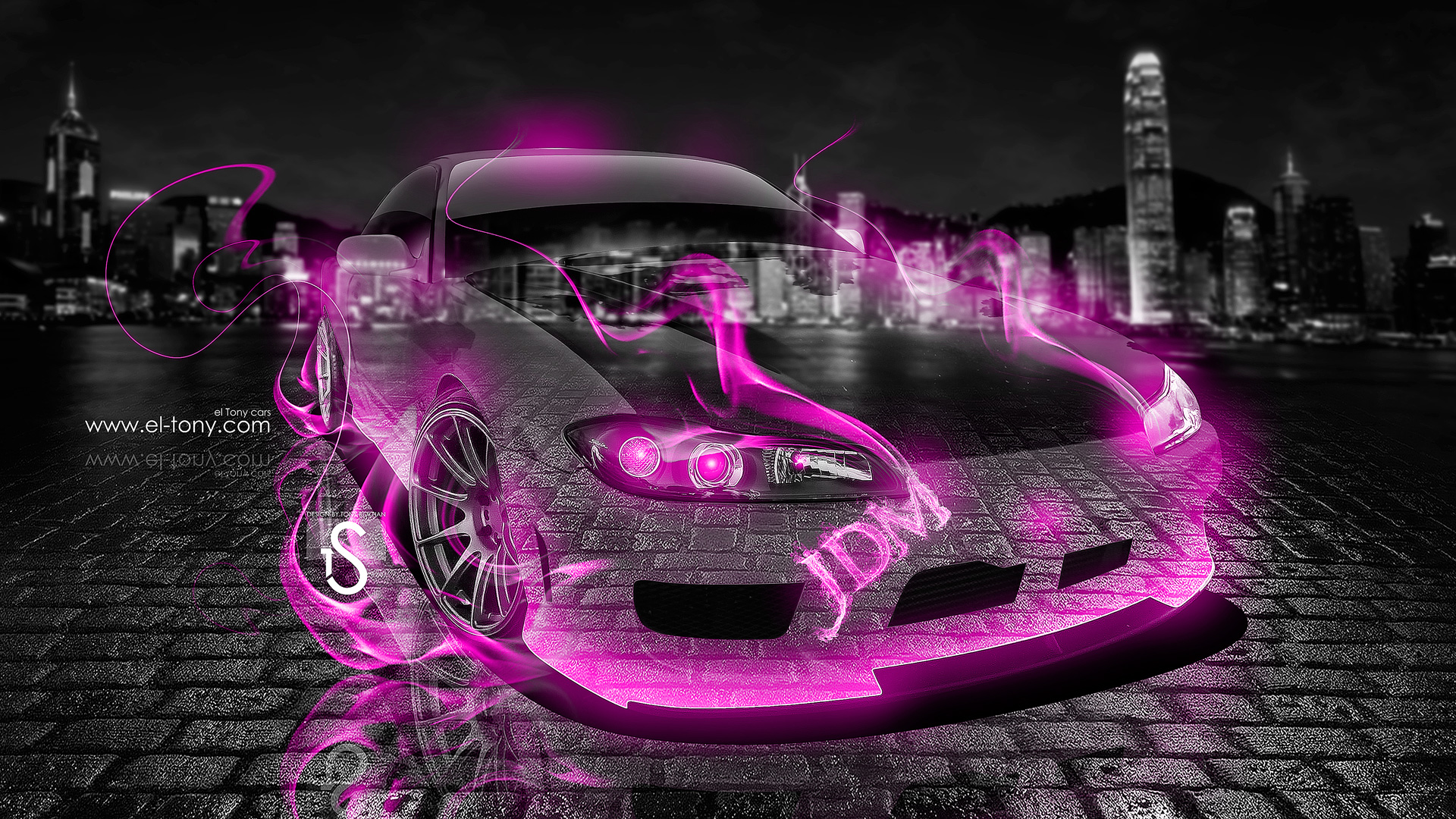 Lovely Nissan Silvia S15 JDM Pink Fire Crystal Car