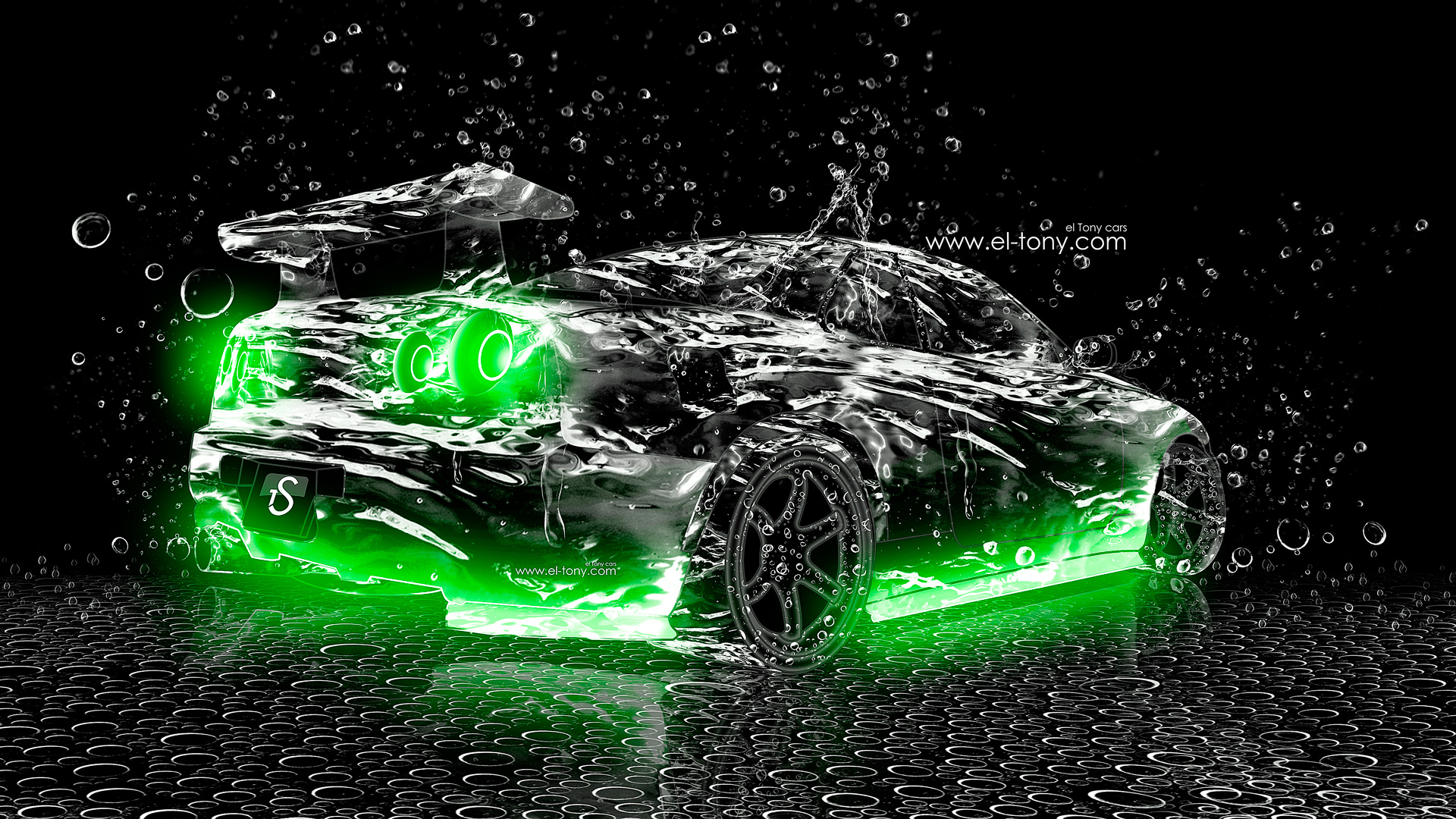 ... Nissan Skyline GTR R34 Water Abstract Car 2013  ...