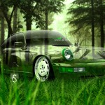 Porsche 964 Crystal Nature Car 2013
