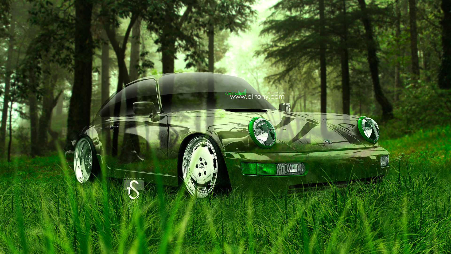 Charmant Porsche 964 Crystal Nature Car 2013 HD Wallpapers
