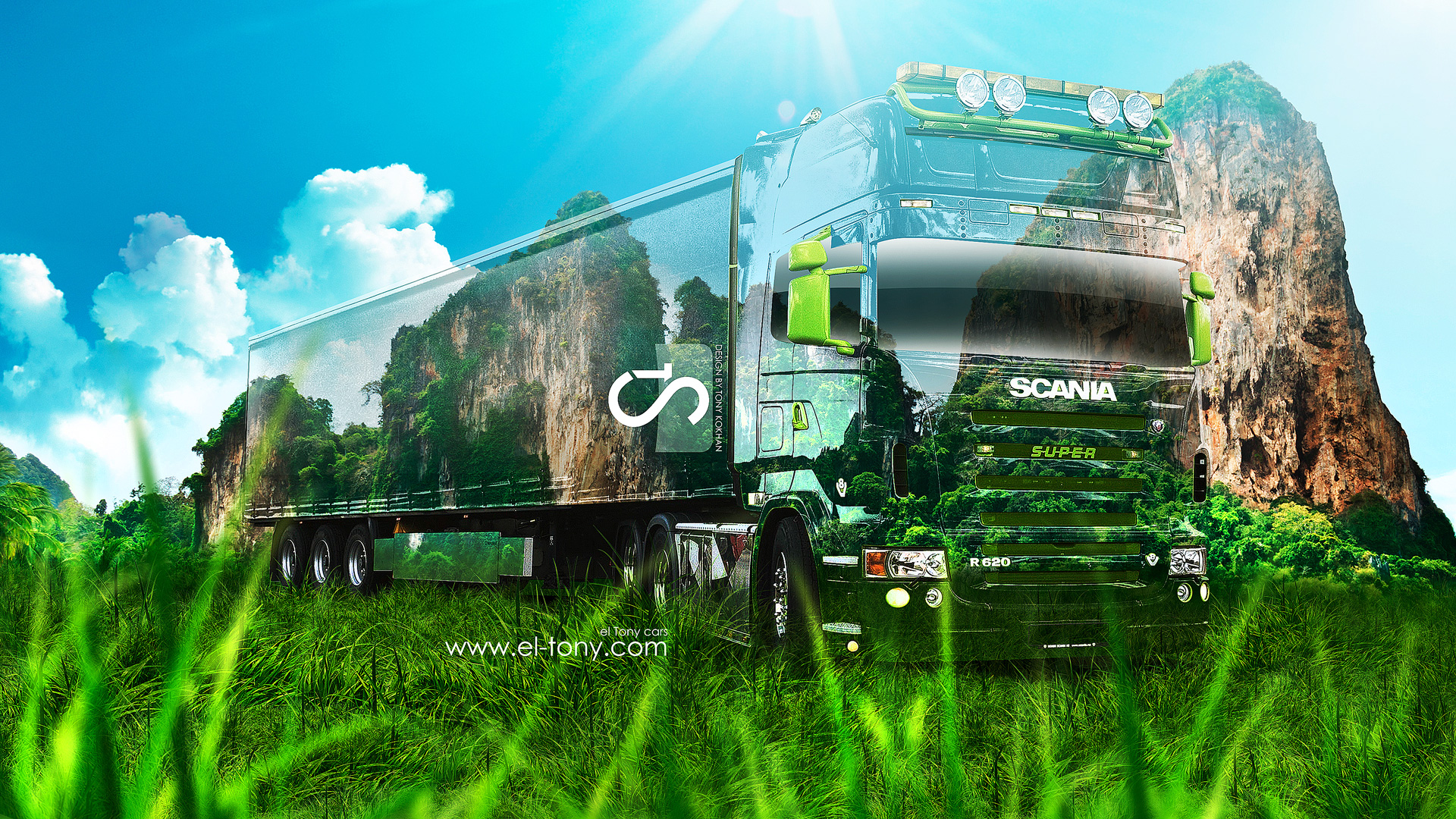 Scania R620 Crystal Nature Car 2013