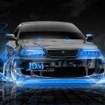 Toyota Chaser JZX100 JDM Front Fire Crystal Car 2013