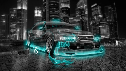 Toyota-Chaser-JZX100-JDM-Tuning-Azure-Crystal-Fire-Car-2013-design-by-Tony-Kokhan-[www.el-tony.com]