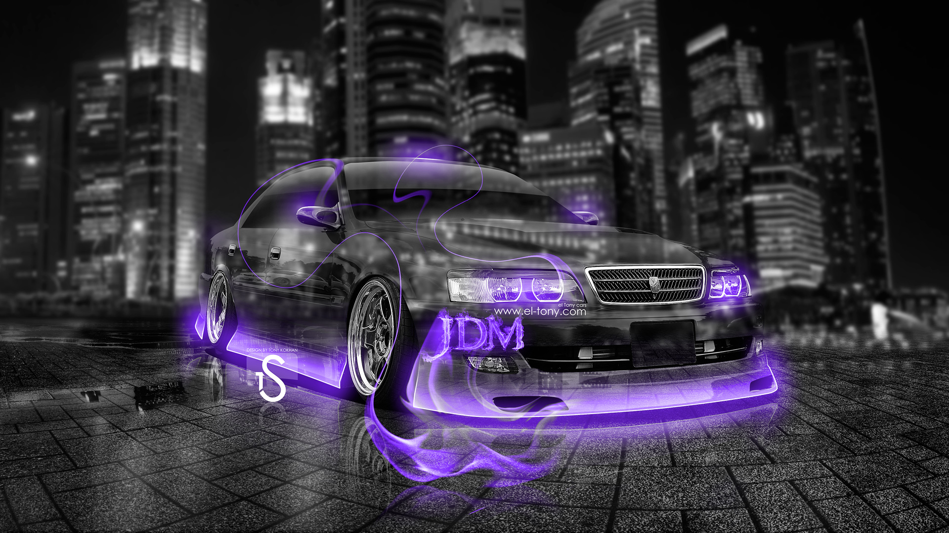 ... Toyota Chaser JZX100 JDM Tuning Violet Crystal Fire  Nice Ideas