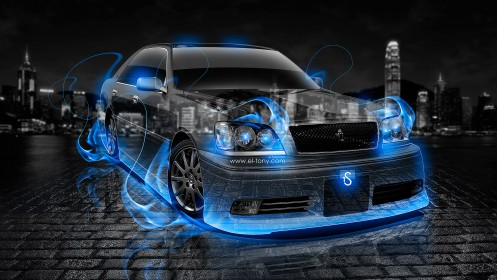 Toyota-Crown-Athlete-JDM-Blue-Fire-Crystal-Car-2013-HD-Wallpapers-by-Tony-Kokhan-[www.el-tony.com]