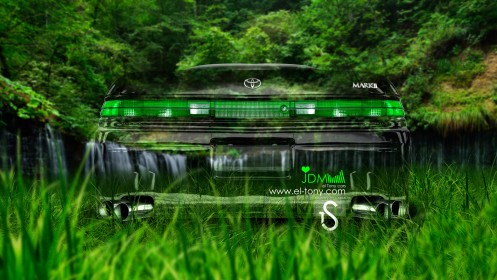 Toyota-Mark-2-JZX90-JDM-Crystal-Nature-Car-2013-HD-Wallpapers-by-Tony-Kokhan-[www.el-tony.com]