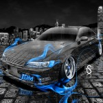 Toyota Mark 2 JZX90 JDM Tuning Fire Crystal Car 2013