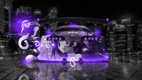 Toyota-Supra-Anime-JDM-City-Car-2013-Back-Violet-Neon-HD-Wallpapers-by-Tony-Kokhan-[www.el-tony.com]
