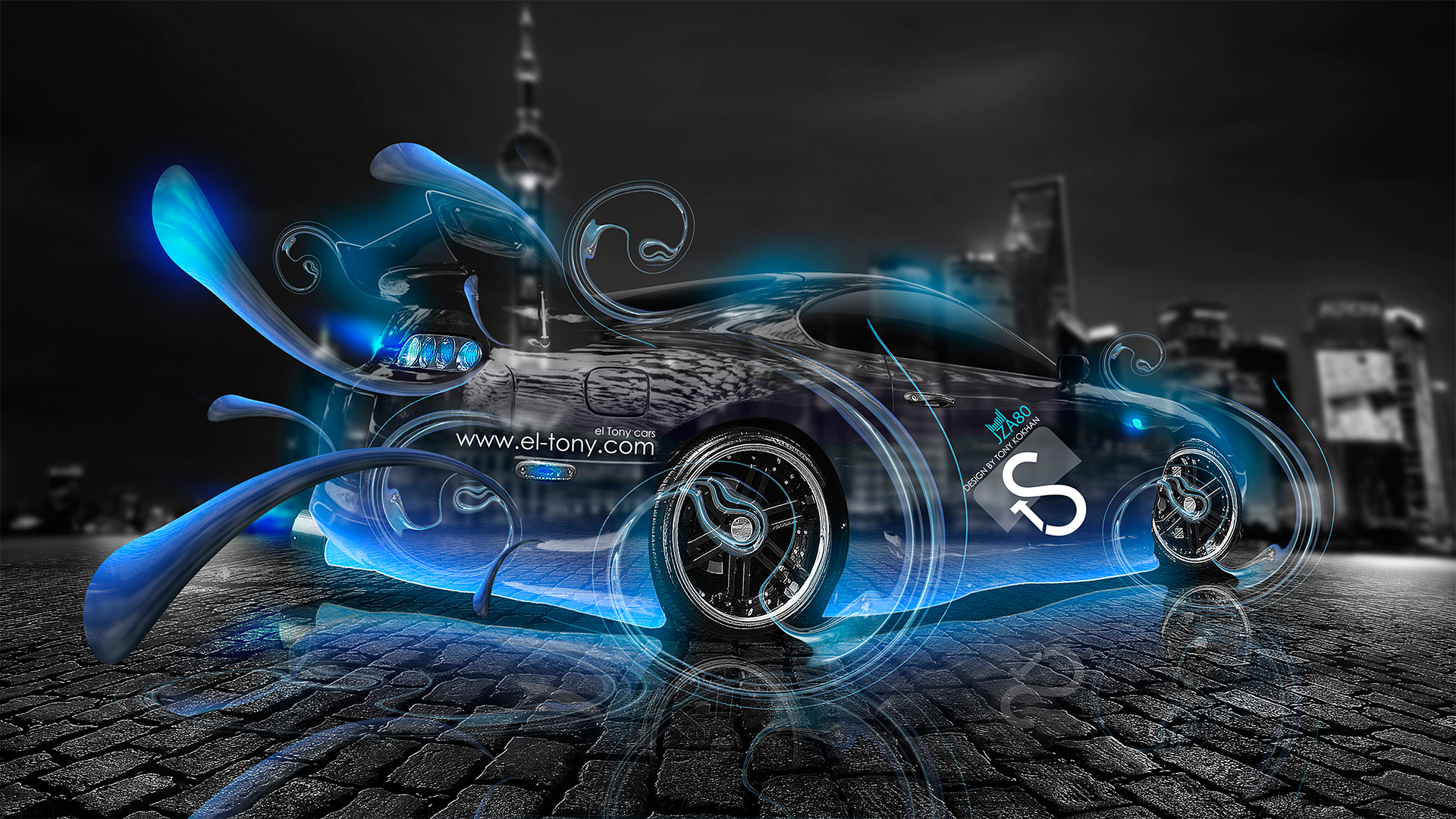Toyota Supra Crystal City Jdm Effects 2013 El Tony