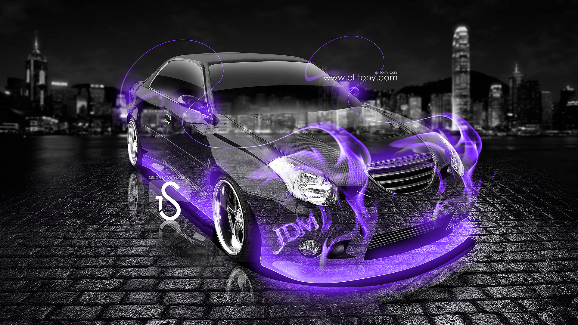 Charmant Toyota Verossa Tuning Violet Fire Crystal Car 2013