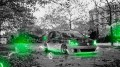 Volkswagen-Golf-Autumn-Crystal-Car-2013-Green-Neon-HD-Wallpapers-design-by-Tony-Kokhan-[www.el-tony.com]