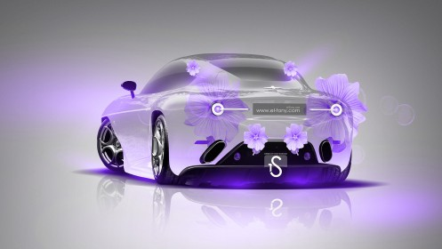 Alfa-Romeo-Disco-Volante-Fantasy-Violet-Flowers-Car-2013-design-by-Tony-Kokhan-[www.el-tony.com]