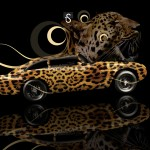 Aston Martin DB4 Fantasy Leopard Car 2013