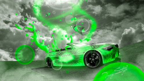 BMW-Fantasy-Fish-Kiwi-Colors-2013-Green-Neon-2013-HD-Wallpapers-design-by-Tony-Kokhan-[www.el-tony.com]