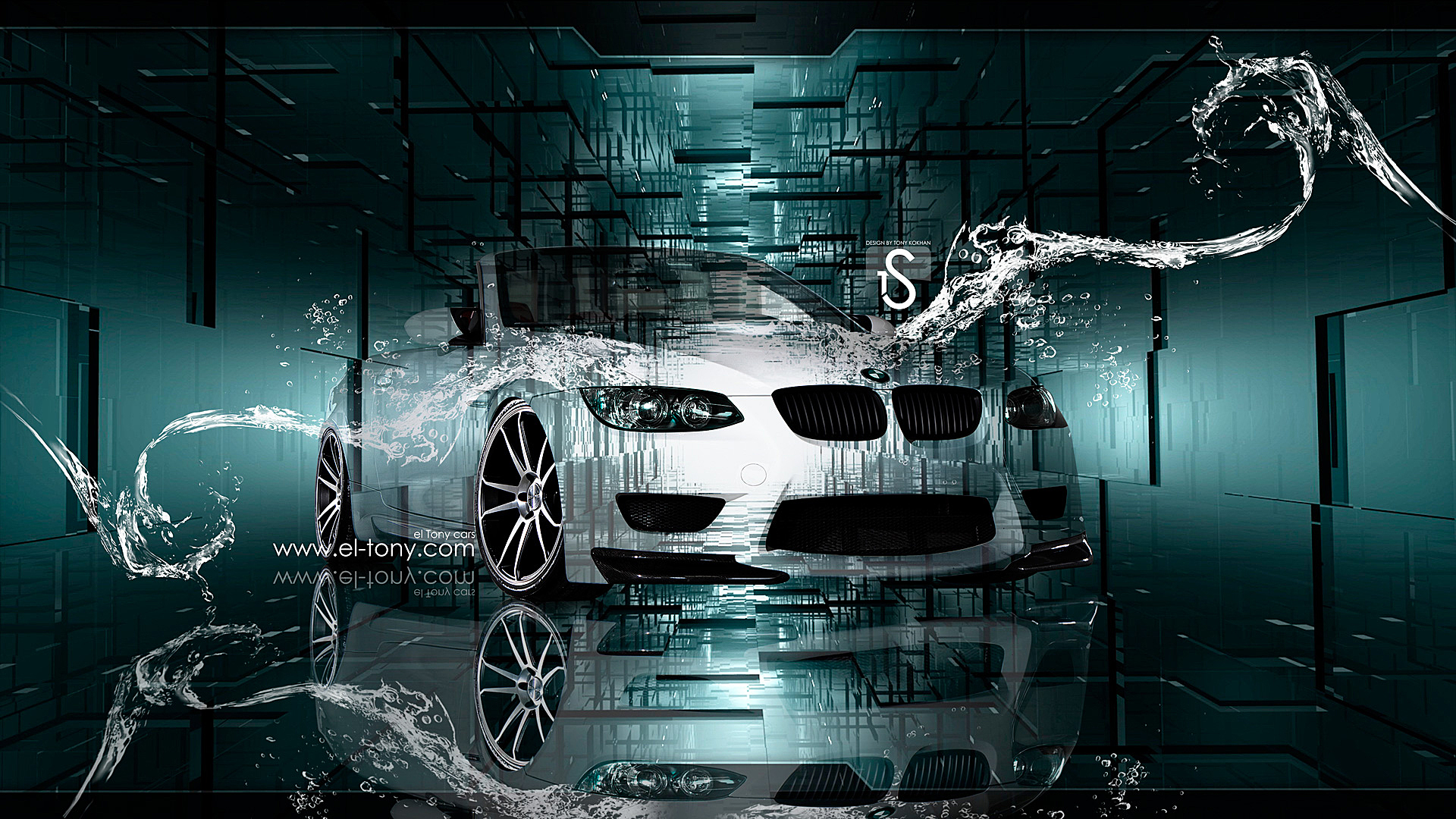 Bmw M3 Crystal Water Car 2013 El Tony