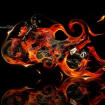 BMW Predator Fire Abstract Moto 2013