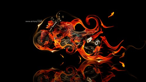 BMW-Predator-Fire-Abstract-Moto-2013-HD-Wallpapers-design-by-Tony-Kokhan-[www.el-tony.com]