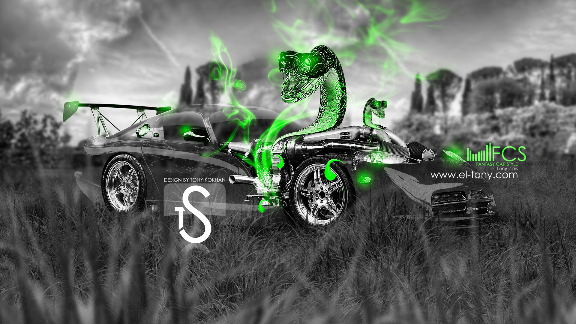 Superieur Dodge Viper Fantasy Snake Car 2013 ...