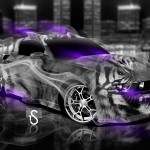 Ford Mustang Fantasy Smoke Tiger 2013