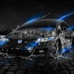 Honda Civic Si JDM Water City Car 2013