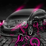 Honda Fit RS JDM Crystal Effects Car 2013