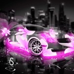 Infiniti G35 Fantasy Flowers City Car 2013