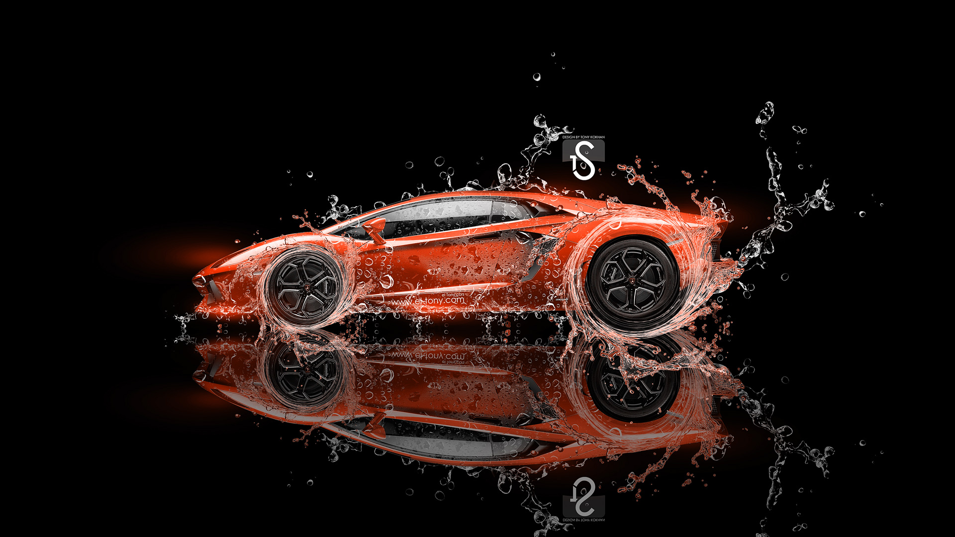 Lamborghini Aventador Super Water Car 2013 El Tony