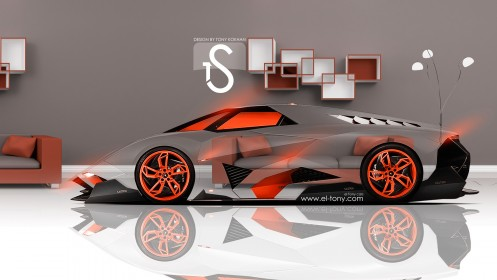 Lamborghini-Egoista-Crystal-Home-Car-2013-Orange-Neon-HD-Wallpapers-design-by-Tony-Kokhan-[www.el-tony.com]