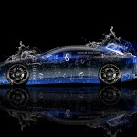Lamborghini Estoque Water Abstract Car 2013
