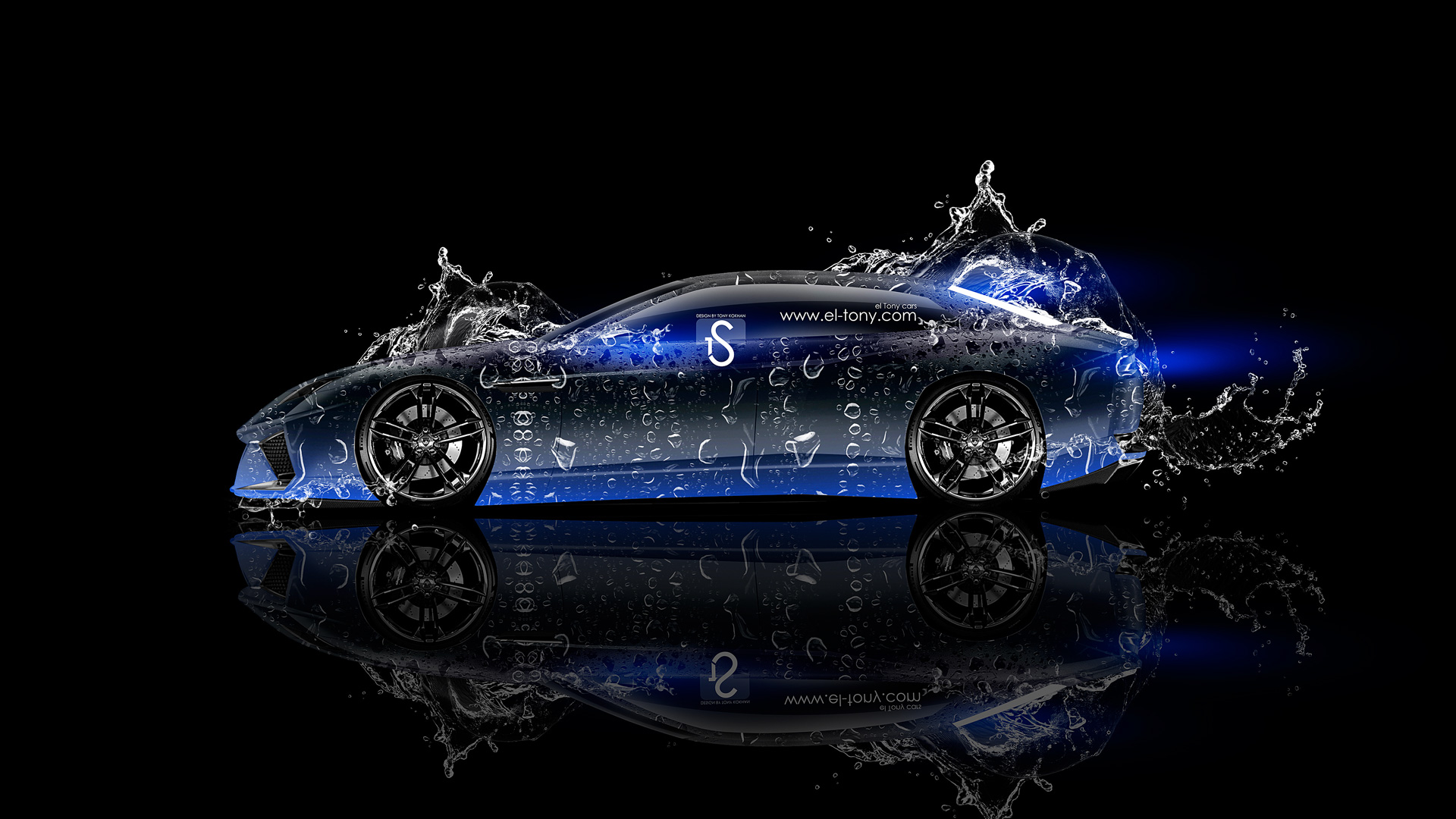 Delightful ... Lamborghini Estoque Water Abstract Car 2013