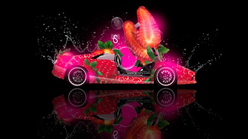 Lamborghini-Murcielago-Fantasy-Strawberry-Car-2013-design-by-Tony-Kokhan-[www.el-tony.com]