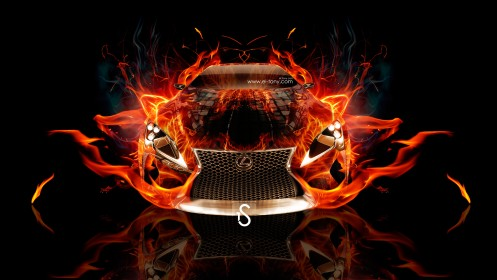 Lexus-LF-LC-Fire-Abstract-Car-2013-HD-Wallpapers-design-by-Tony-Kokhan-[www.el-tony.com]
