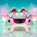 Mazda MX5 Fantasy Flowers Car 2013
