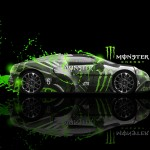 Monster Energy Bugatti Veyron Fantasy Car 2013