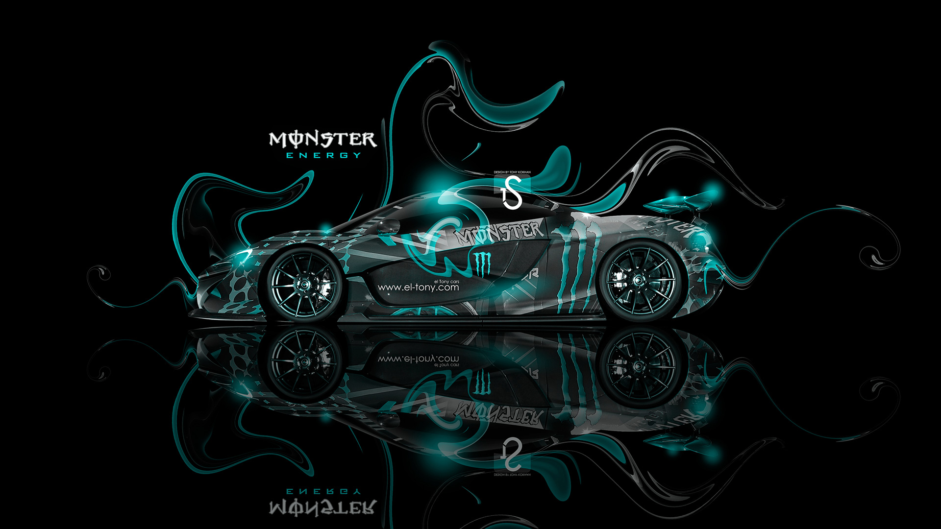 Marvelous ... Monster Energy McLaren P1 Fantasy Plastic Car 2013  ... Ideas