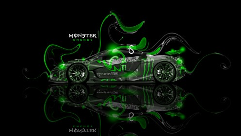 Monster-Energy-McLaren-P1-Fantasy-Plastic-Car-2013-Green-Neon-design-by-Tony-Kokhan-[www.el-tony.com]