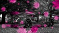 Morgan-Aeromax-Retro-Crystal-Nature-Autumn-Car-2013-Pink-Neon-by-Tony-Kokhan-[www.el-tony.com]