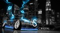 Nissan-350Z-Crystal-Blue-Neon-Car-City-2013-design-by-Tony-Kokhan-[www.el-tony.com]