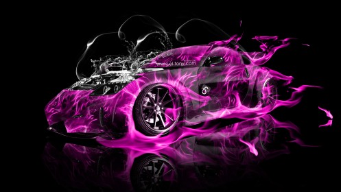 Nissan-350Z-VeilSide-Water-Engine-Pink-Fire-Abstract-Car-2013-design-by-Tony-Kokhan-[www.el-tony.com]