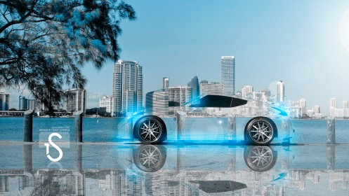 Nissan-370Z-Crystal-City-Car-2013-Blue-Neon-Wallpapers-design-by-Tony-Kokhan-[www.el-tony.com]