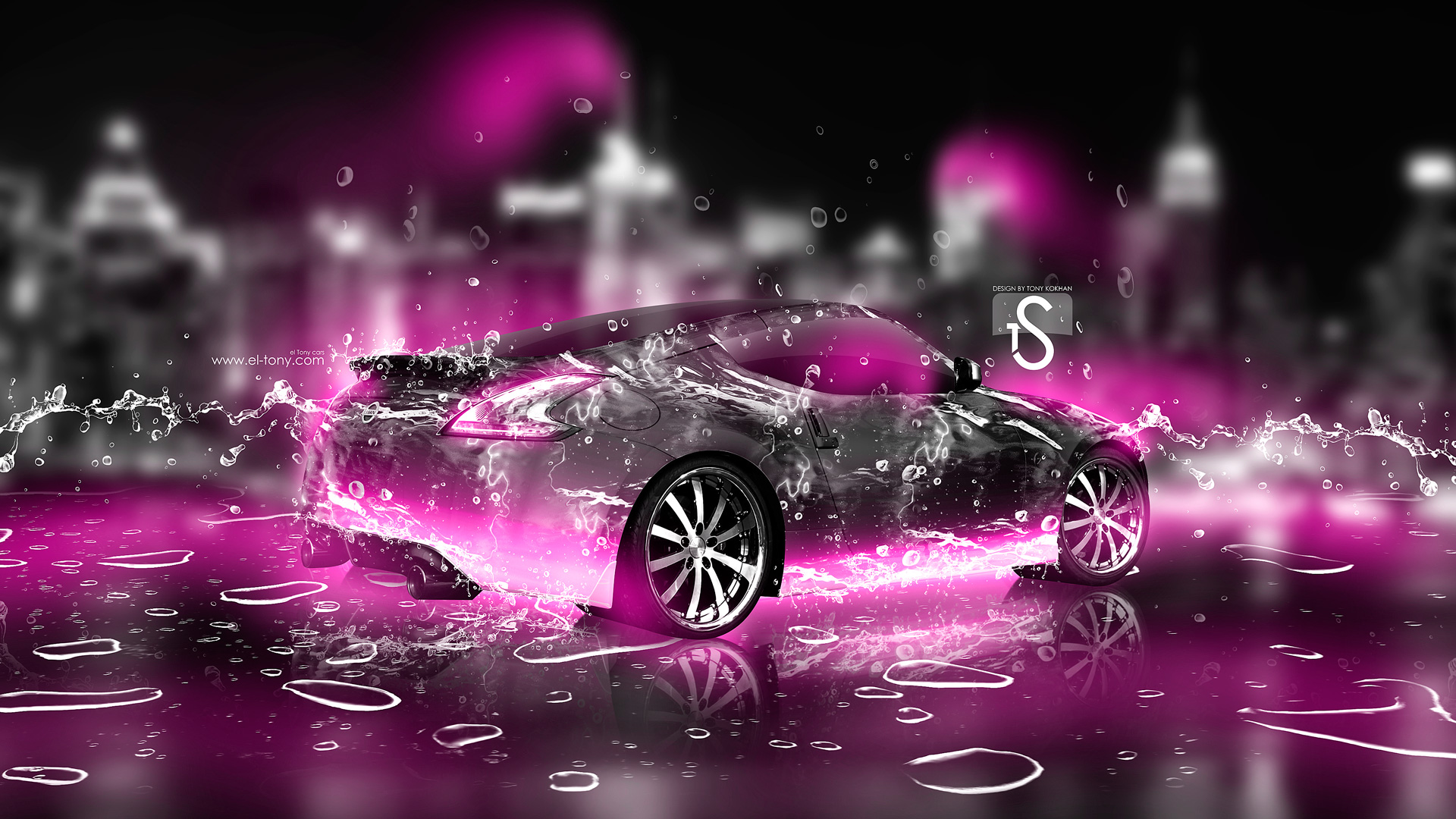 ... Nissan 370Z Ice Water City Car 2013 Pink