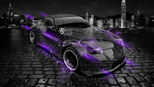 Nissan-Fairlady-Z-Roadster-Z33-Violet-Smoke-Crystal-Car-2013-by-Tony-Kokhan-[www.el-tony.com]