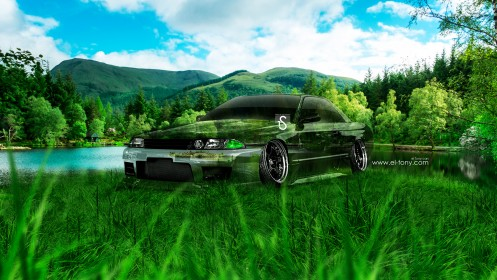Nissan-Skyline-GTR-R32-JDM-Crystal-Nature-Car-2013-HD-Wallpapers-design-by-Tony-Kokhan-[www.el-tony.com]